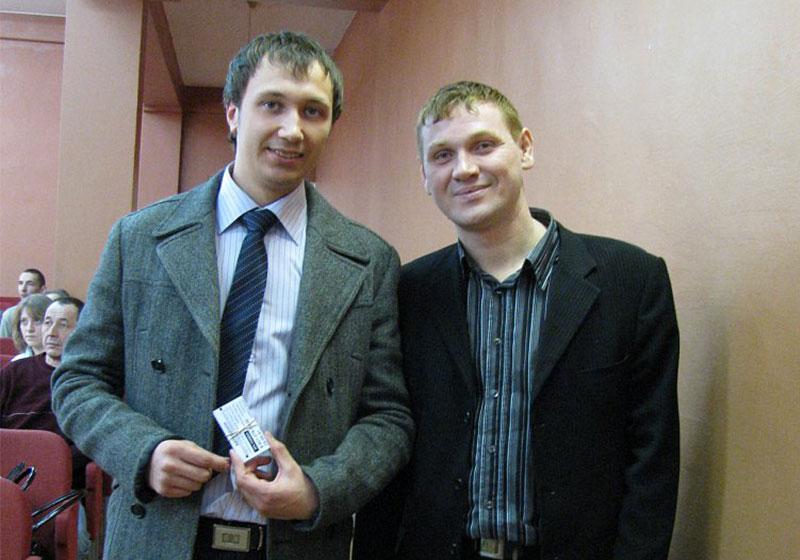 Николай Третьяков 2012 год